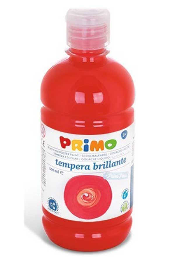 Τέμπερα 500 ml PRIMO vermillion red 202BR500
