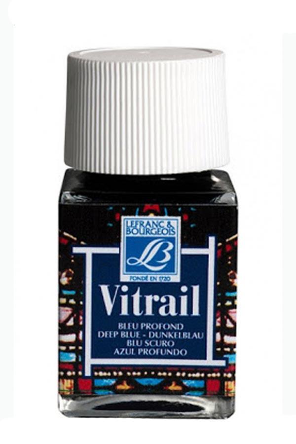 Σμάλτο Deep blue Vitrail 50 ml LEFRANC BOURGEOIS  κωδ. 211585