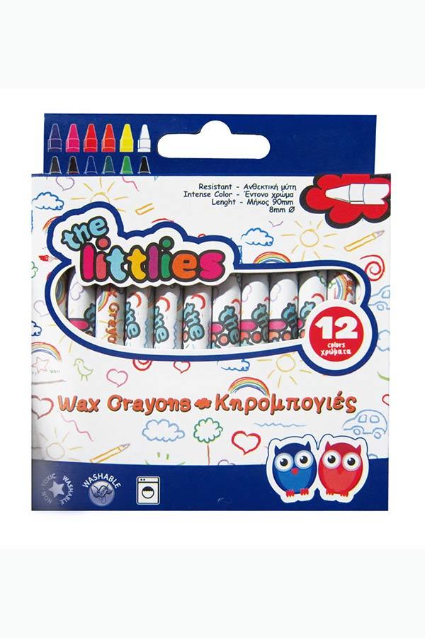 Κηροπαστέλ the littlies 12 χρωμάτων 0646035