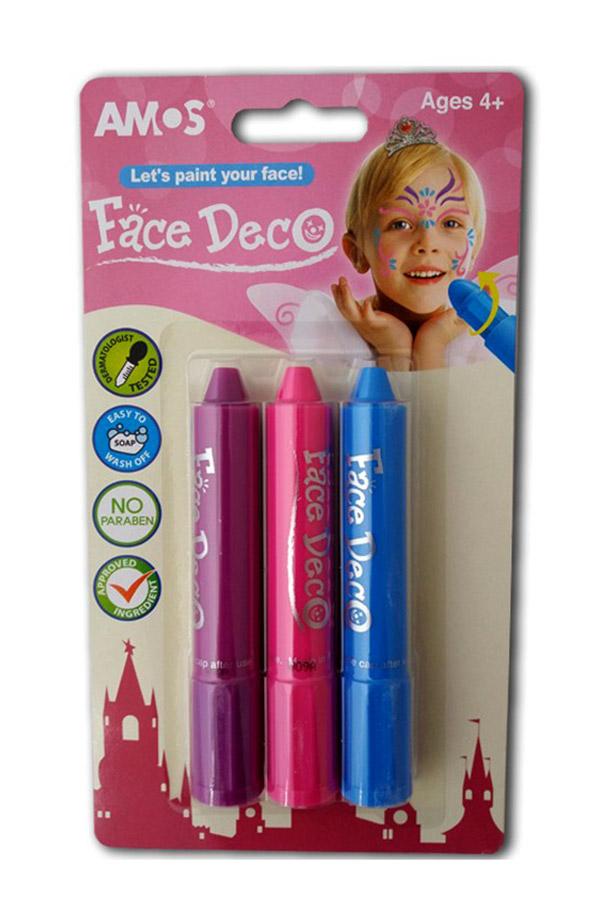 Χρώματα προσώπου Face Deco κοριτσιών AMOS FD5B3B