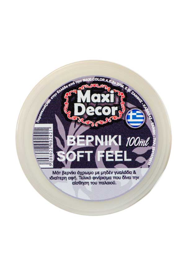 Βερνίκι soft feel 100ml Maxi Decor