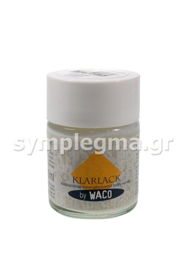 Βερνίκι γυαλιστερό 50ml WACO KLARLACK GLOSS Κωδ. 9004599