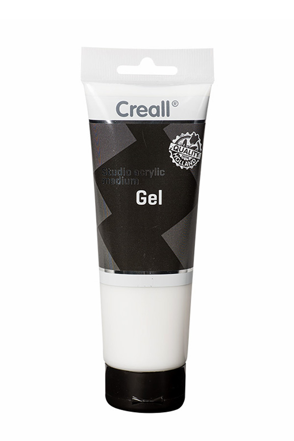 Studio acrylic medium gel 250ml Creall 43005