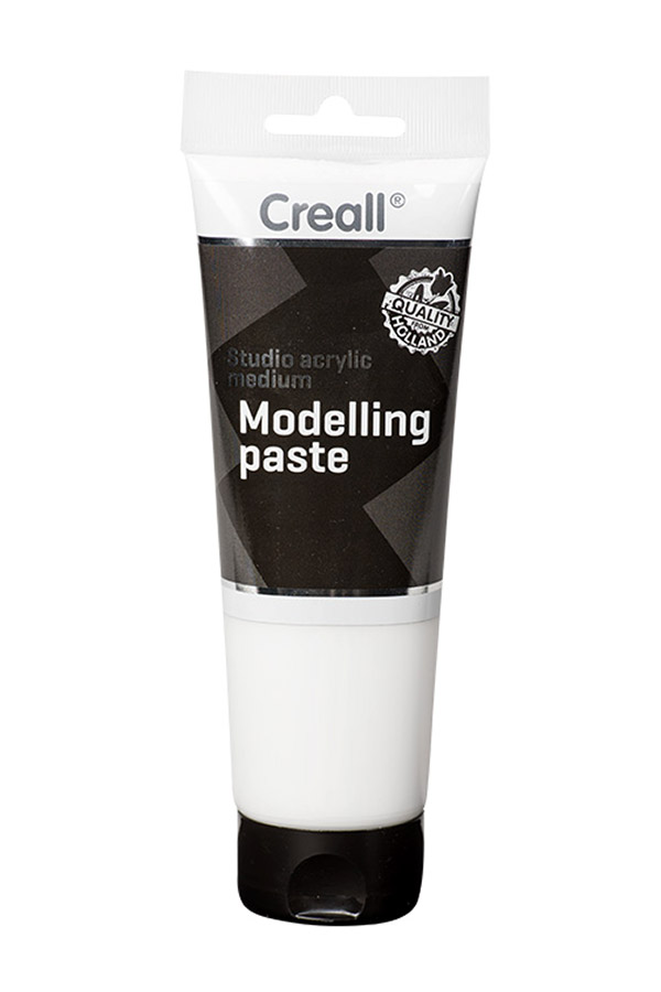 Studio acrylic medium Modelling paste 250ml Creall 40038