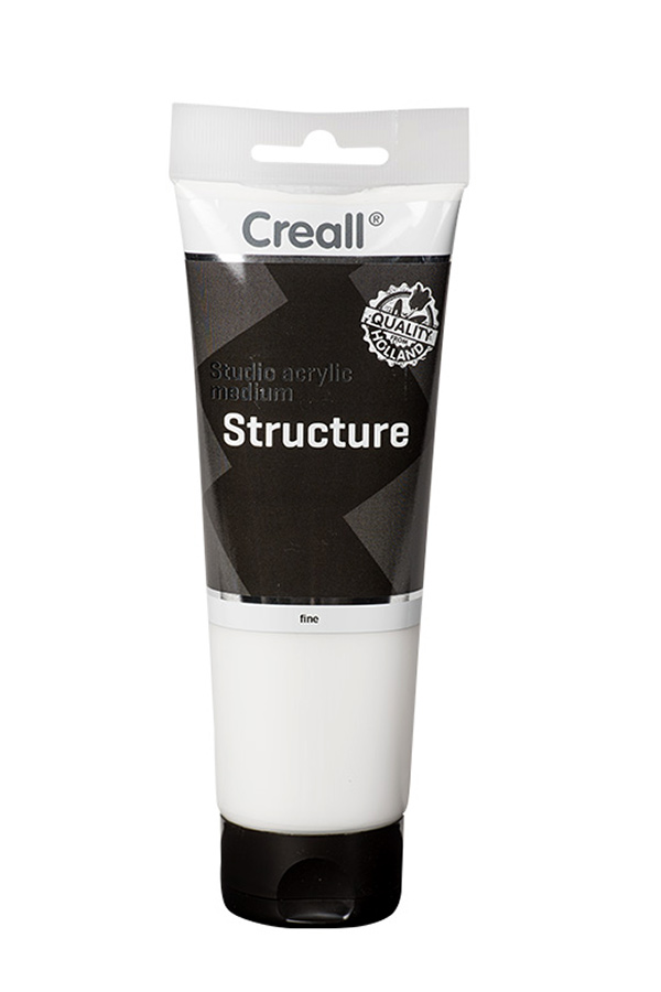 Studio acrylic medium Structure fine 250ml Creall 40036