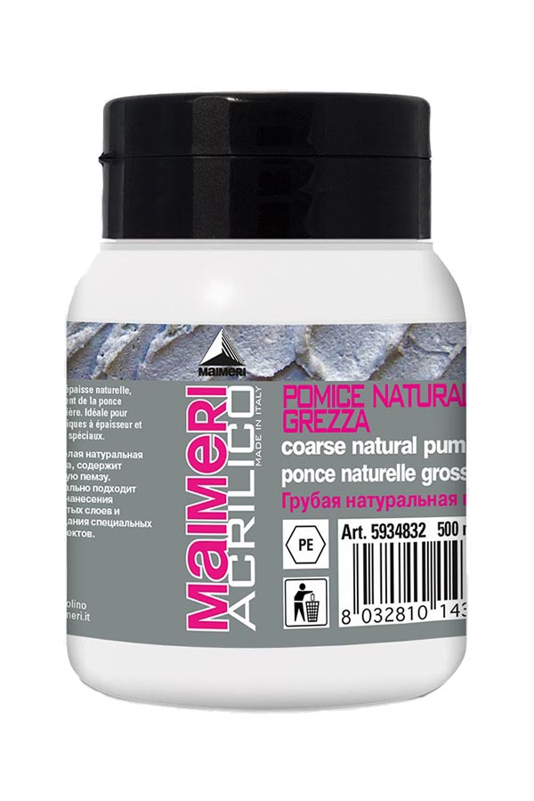 Medium Pomice Naturale Grezza Maimeri 500ml 5940832