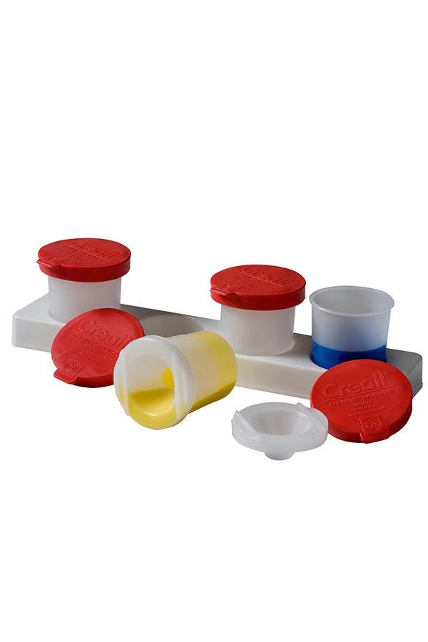 Σετ δοχείων αποθήκευσης χρωμάτων με βάση Creall 17060
