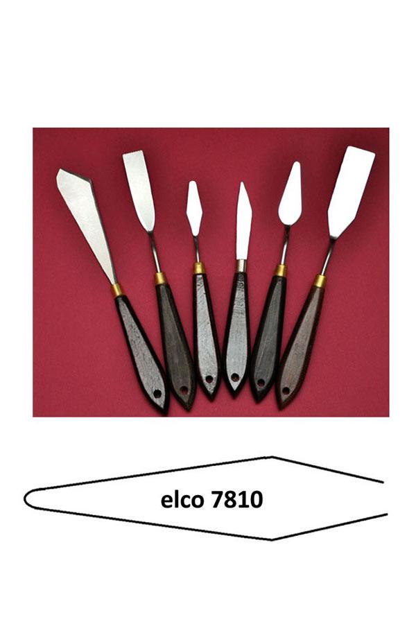 Σπάτουλα ζωγραφικής γυριστή 7x1,5cm elco 7810