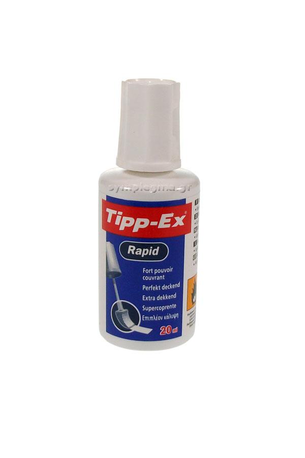 Διορθωτικό υγρό σφουγγαράκι Tipp-Ex Rapid 20ml