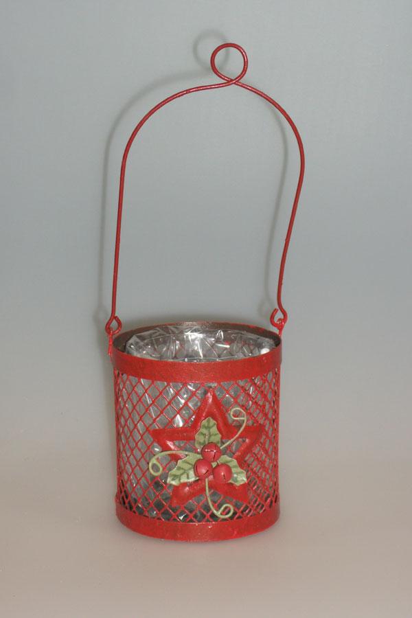 Χριστουγεννιάτικο ποτηράκι για ρεσό κρεμαστό